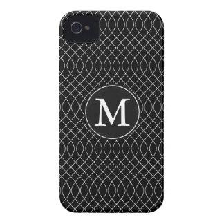 Redemoinhos preto e branco capas para iPhone 4 Case-Mate