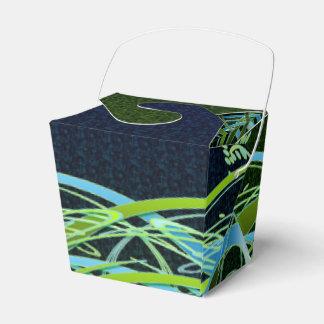 Redemoinhos verdes do azul de n caixinha de lembrancinhas para festas