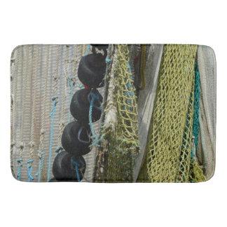 Redes de pesca abstratas da praia do tapete de