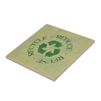 Reduza o reciclar reusar
