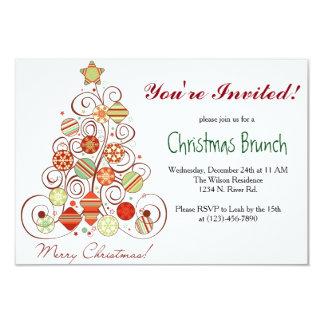 Refeição matinal do Natal Convites Personalizado