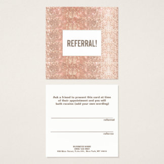 Referência cor-de-rosa do salão de beleza do cartão de visitas quadrado