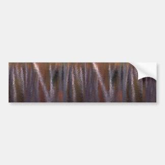 Reflexão abstrata da folha do outono em um castor adesivos