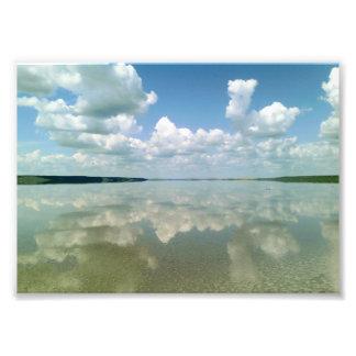 Reflexão Impressão De Foto