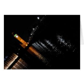 Reflexões na Tamisa - o cartão de Big Ben