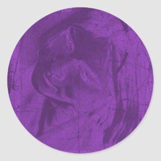 Reflexões roxas adesivo