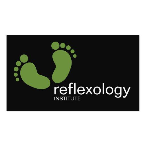 Reflexology Podology & cartão de visita do No1 do