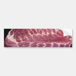 Reforços de carne de porco adesivos