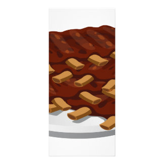 Reforços do abbasid da comida do pulso aleatório 10.16 x 22.86cm panfleto