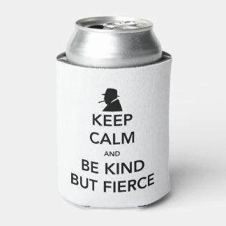 Refrigerador feroz da lata porta-lata