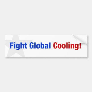 Refrigerar global da luta adesivo para carro