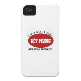 refrigere 101 anos de design velho do aniversário capas iPhone 4 Case-Mate