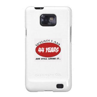 refrigere 44 anos de design velho do aniversário capa galaxy SII