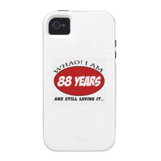 refrigere 88 anos de design velho do aniversário