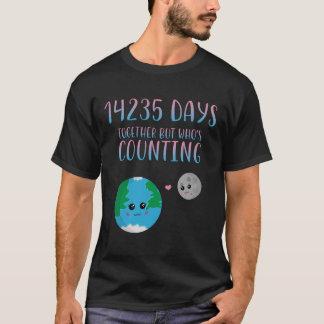 Refrigere a 39th junto camisa para o aniversário