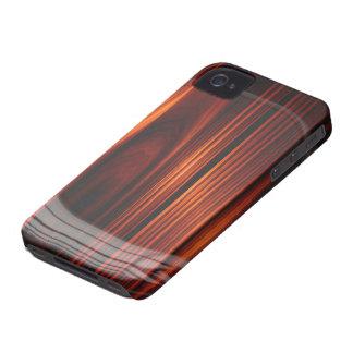 Refrigere a caixa de madeira envernizada do iPhone Capa Para iPhone 4 Case-Mate