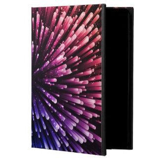 Refrigere o design vermelho e azul da explosão capa para iPad air 2