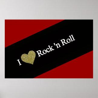 refrigere o rock and roll do coração de I Pôster