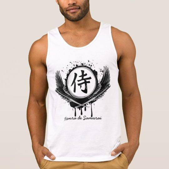 Regata 100% algodão - Honra de Samurai