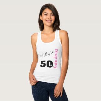 Regata 50 personalizados e 50th aniversário temático