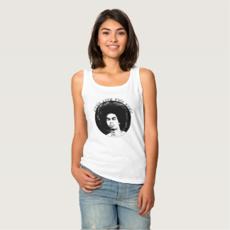 Regata A camisola de alças básica das mulheres do Afro de