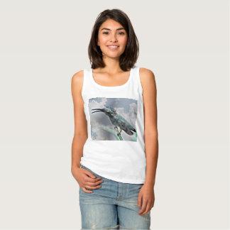 Regata A camisola de alças básica das mulheres - Hummer