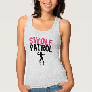 Regata A camisola de alças das mulheres da patrulha de