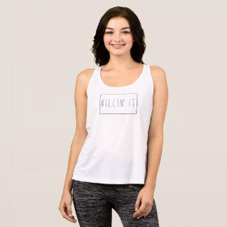 Regata A camisola de alças das mulheres de Killin do