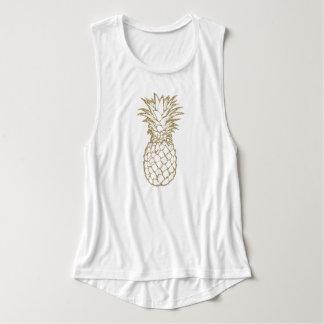 Regata A camisola de alças das mulheres do abacaxi do