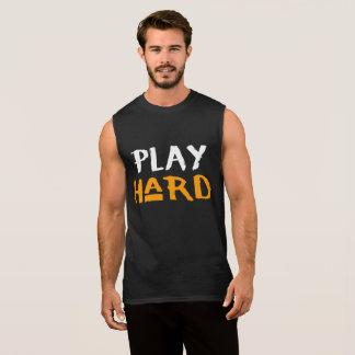 Regata A camisola de alças dos homens duros do jogo