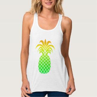 Regata Abacaxi tropical bonito das cores