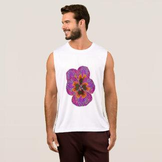 Regata Abstrato psicadélico da flor do amor perfeito