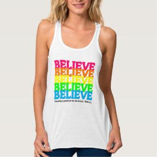 Regata Acredite o arco-íris de néon