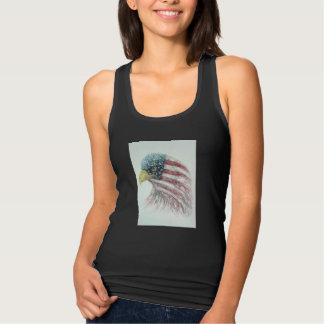Regata águia, águia com bandeira americana, águia