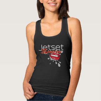 Regata Alcaçuz de Jetset > camisola de alças das mulheres