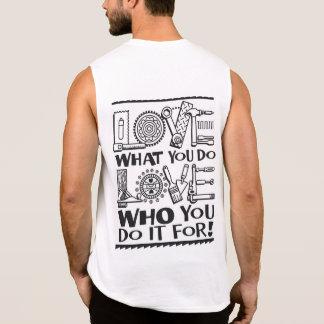 Regata Ame o que você fazem, ame quem você o faz para!