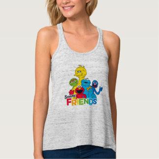 Regata Amigos do sésamo do Sesame Street |