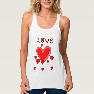 Regata Amor sobre corações