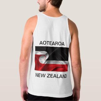 Regata Aotearoa Nova Zelândia da bandeira de Tino