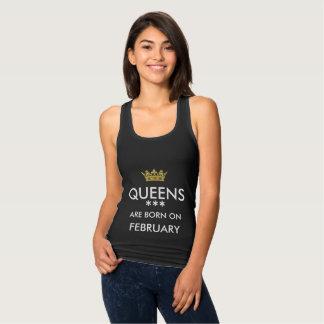 Regata as rainhas são em fevereiro camisola de alças