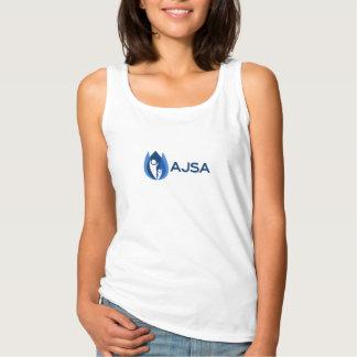 Regata Azul do t-shirt de AJSA