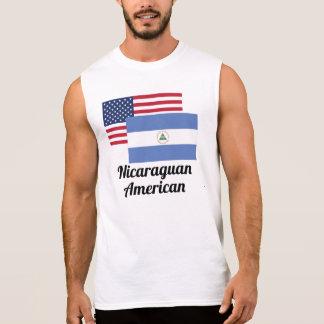 Regata Bandeira americana e nicaraguense