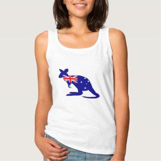 Regata Bandeira australiana - canguru
