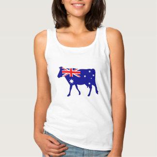Regata Bandeira australiana - vaca
