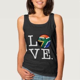 Regata Bandeira de sorriso de África do Sul do amor