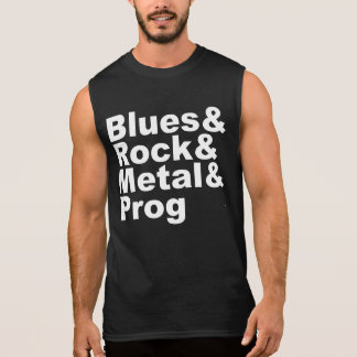 Regata Blues&Rock&Metal&Prog (branco)