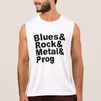 Regata Blues&Rock&Metal&Prog (preto)