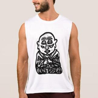 """Regata """"Buddha Pray"""" a camisola de alças do esporte"""