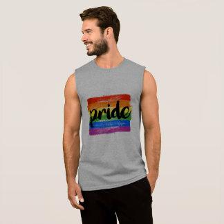 REGATA CALIGRAFIA DO ORGULHO DE LGBTQ - BANDEIRA PINTADA