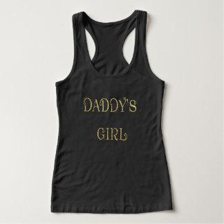 Regata Camisola de alças agradável da menina de Daddys